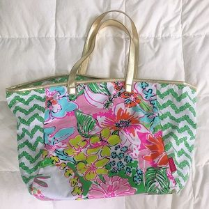 NWOT Lily Pulitzer Beach Tote Bag by Target